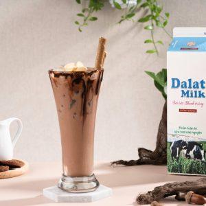 Đổi vị với Yogurt Chocolate Cốt Dừa mát lạnh