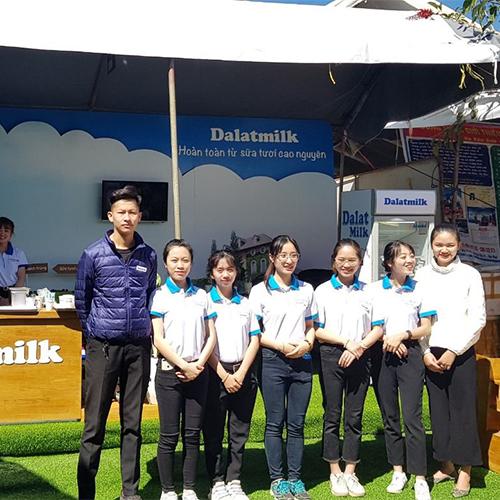 Dalatmilk hân hạnh đồng hành cùng Festival hoa đà lạt 2019